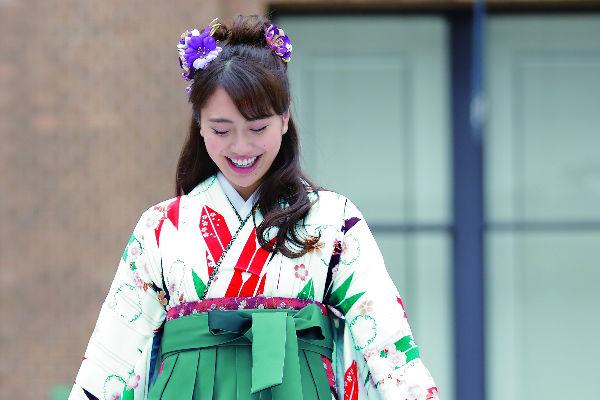 卒業式にオススメ!かわいい袴をご紹介