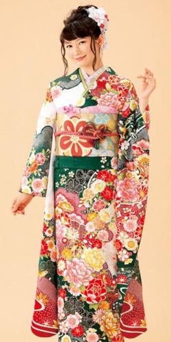 成人式振袖オーダー仕立てレンタル:R856【夢咲袖2018 Autumn Vol.1】
