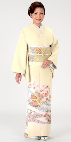 色留袖レンタルIRB1174 B2(身長160cm前後、13-15号、ヒップ100-110cm)